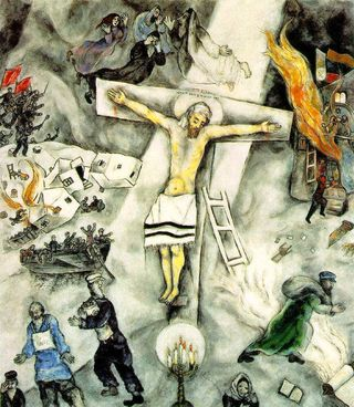 Pastoradambartonakronohiochapelchagallcrucifixtion